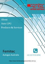Leading Provider of Auto LPG Products and Services