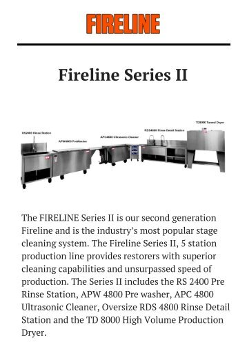 Fireline Series II Plus by Fireline.