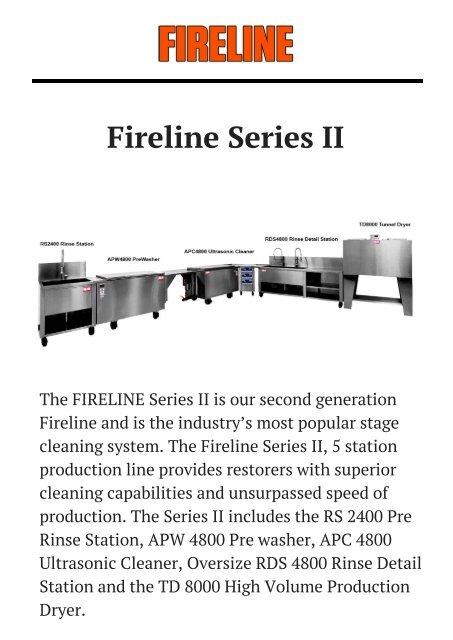 Fireline Series II Plus by Fireline.