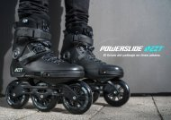 Powerslide NEXT catalogue 2018. Spanish.