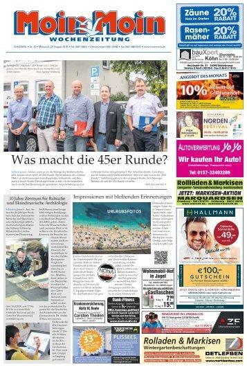MoinMoin Schleswig 35 2018