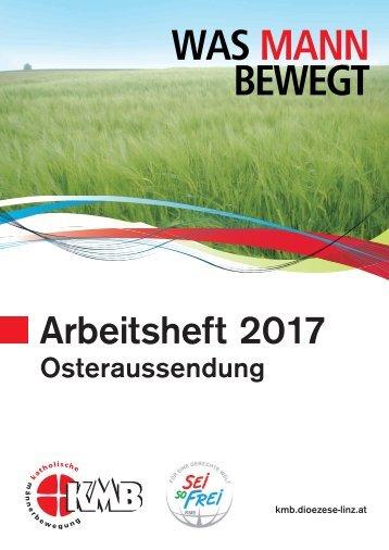 Arbeitsheft 2017 Osteraussendung