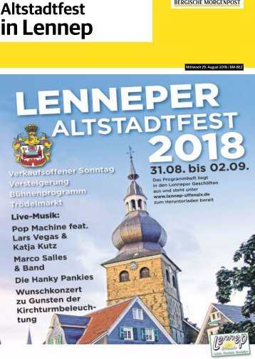 Altstadtfest in Lennep -29.08.2018-