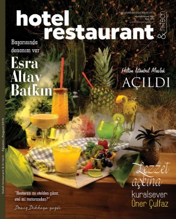 hotel restaurant & hi-tech August 2018