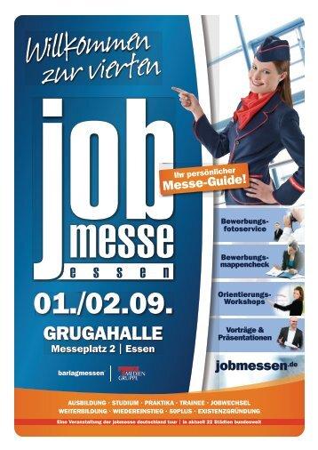 Der Messe-Guide zur 4. jobmesse essen