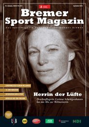 BREMER SPORT Magazin | September 2018