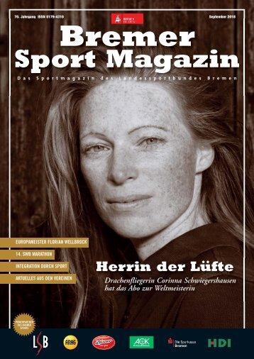 BREMER SPORT Magazin | September 2018