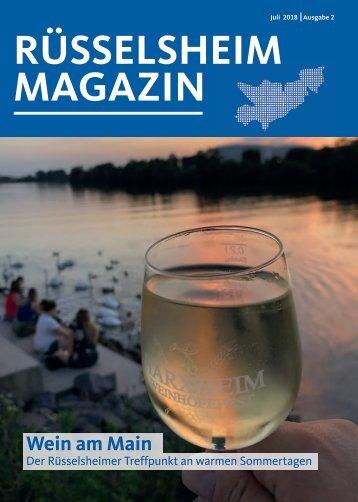 Rüsselsheim Magazin Juli 2018