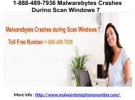 1-888-489-7936 Malwarebytes Crashes During Scan Windows 7 (1)