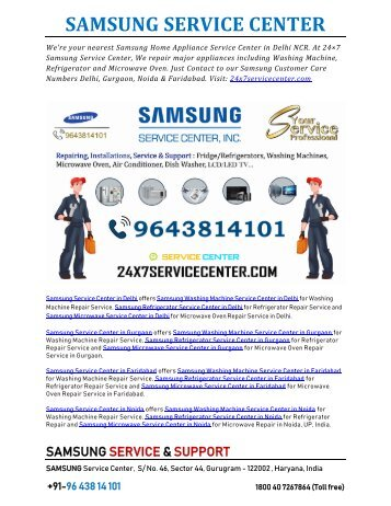 Samsung Service Center in Delhi