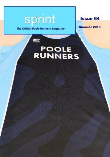 SPRINT Issue 64 - Summer 2018