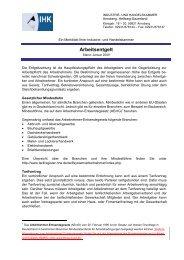 Arbeitsentgelt - IHK Arnsberg Hellweg-Sauerland