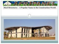 Steel Structures - A Popular Name in the Construction World