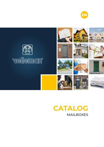 Velleman Mailbox Catalogue - EN