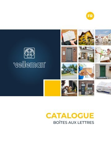Velleman Mailbox Catalogue - FR