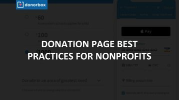 Donation Page Best Practices for Nonprofits