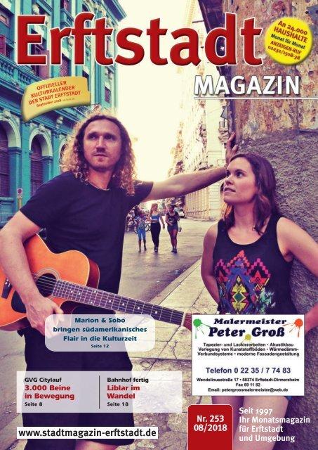 Erftstadt Magazin August 2018