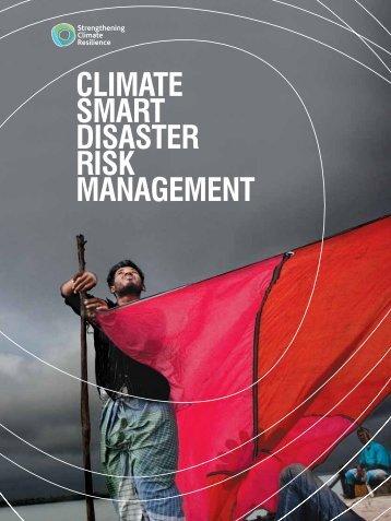climate smart disaster risk management - Eldis Communities