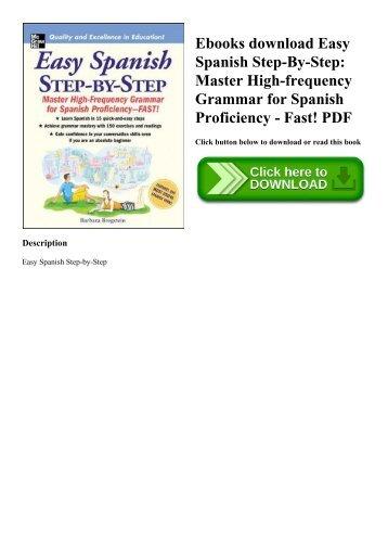 Ebook spanish free download grammar