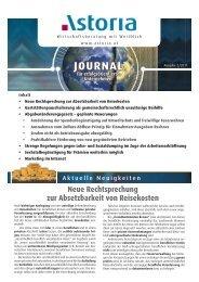 Präsentation Leistungsbereich INTERN ASTORIA Mitarbeiter Neue