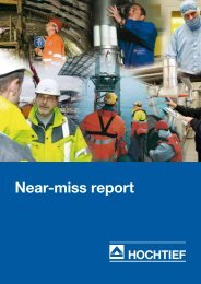 Download PDF Near-miss Report (238k) - HOCHTIEF Solutions