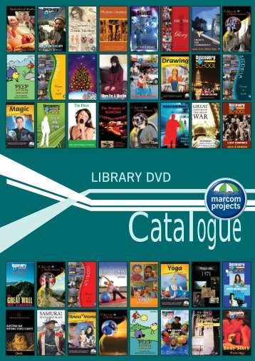 Library DVD catalogue - Marcom Projects