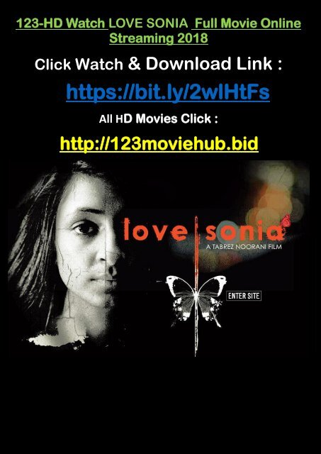 In Hd Watch Love Sonia 2018 Full Movie Online Streaming 2018 Tamil Free