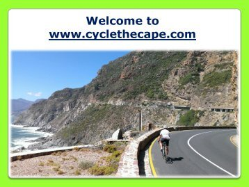 Road Cycling Tour in Cape Town