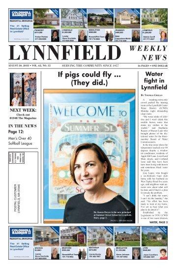 Lynnfield 8-30