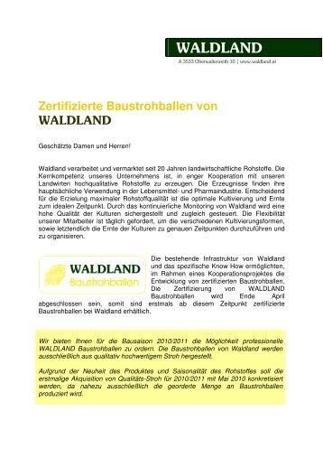 Zertifizierte Baustrohballen von - Klima:aktiv