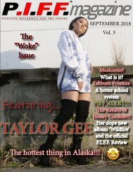 P.I.F.F. Magazine Issue 3.1 Woke Issue Sept 2018 (preview)