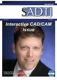 Interactive CAD/CAM Issue - dentasa
