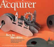 Acquirer Autumn 2012 - Livingstone Partners