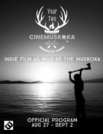 Cinemuskoka Program 2018
