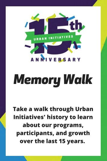 15th Anniversary Memory Walk