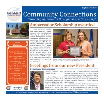 Chamber Newsletter - September 2018