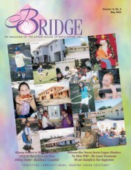 JLBR - The Bridge - May 2003 - Junior League of Boca Raton