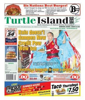 Turtle Island News - 08/29/2018