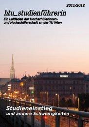 2011/2012 - HTU HochschülerInnenschaft an der TU Wien