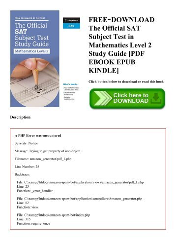 Master the sat subject test math level 1 xtremepapers freedownload the official sat subject test in mathematics level 2 study guide pdf fandeluxe Gallery