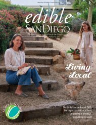 Edible San Diego Issue 45 January/February 2018