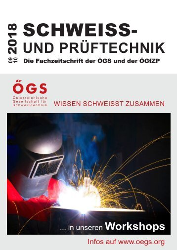 Fachzeitschrift ÖGS 09/10 2018