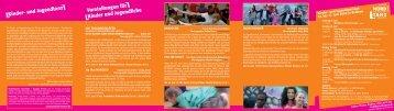 Kinder- und Jugendtanz Vorstellungen für Kinder und Jugendliche