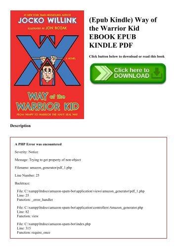 (Epub Kindle) Way of the Warrior Kid EBOOK EPUB KINDLE PDF