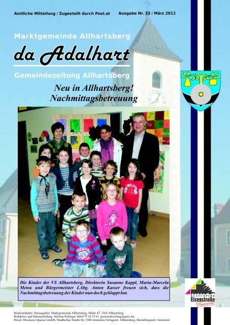 Singleborse aus allhartsberg Meine stadt partnersuche