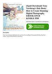 Digital Photography Book Epub