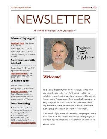 Sept. newsletter
