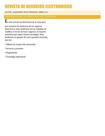 Revista de negocios electronicos
