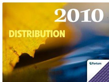 2010 distribution - Fortum
