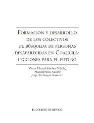 Documento de Colectivos de Familares de Desaparecidos en Coahuila
